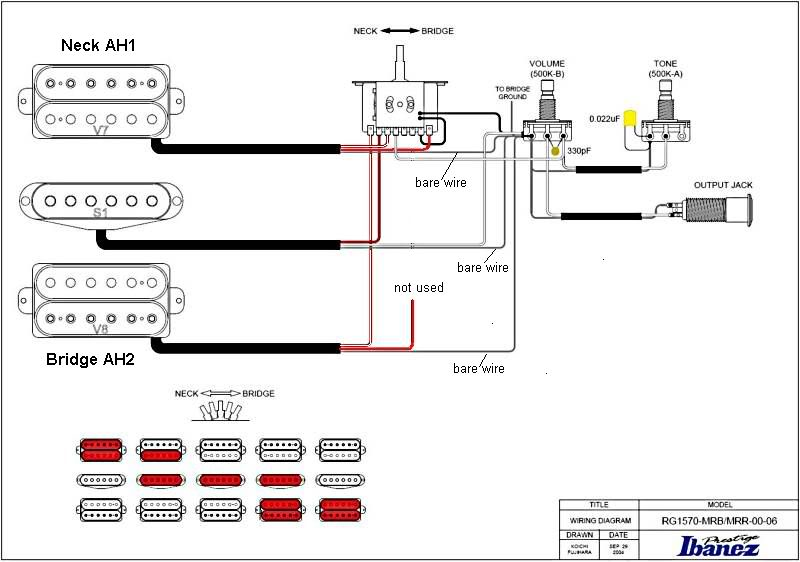 Dual Humbucker Wiring Diagram : Dual humbuckers wiring diagram images