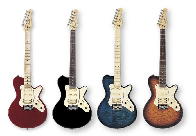 Guitarthai Godin Sd24 Vintage Sunburst
